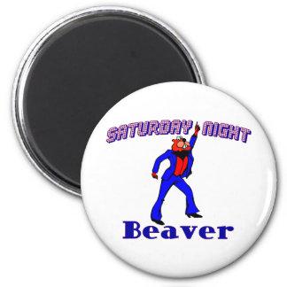 Disco Beaver Magnet