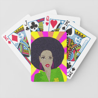 Disco Bicycle Playing Cards