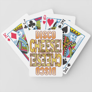 Disco Blue Cheese Bicycle Playing Cards