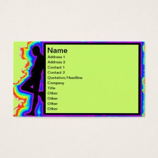 Disco Business Card