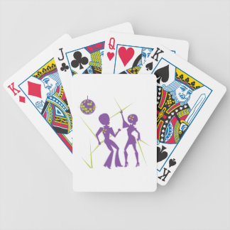 Disco Dance Bicycle Playing Cards