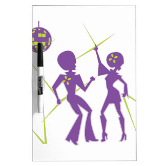 Disco Dance Dry Erase Board