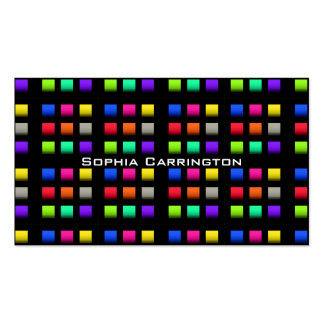 Disco Dance Floor Pack Of Standard Business Cards