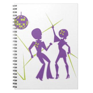 Disco Dance Notebooks