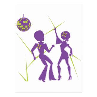 Disco Dance Postcard