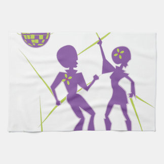 Disco Dance Tea Towel