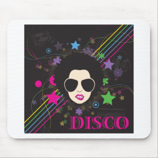 Disco ~ Disco Queen Funky 1980s 80s Music Mousepads