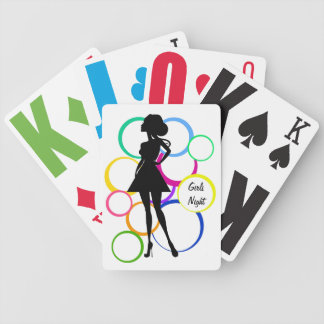 Disco Diva Bicycle Playing Cards