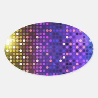 Disco dots sticker