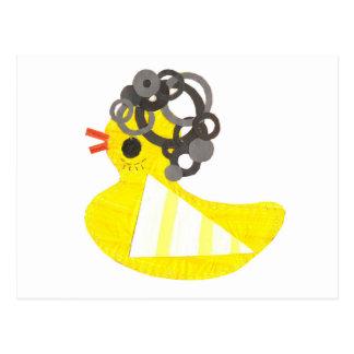 Disco Ducky Postcard