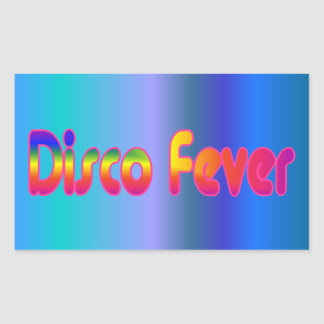 Disco Fever 2 Rectangular Sticker