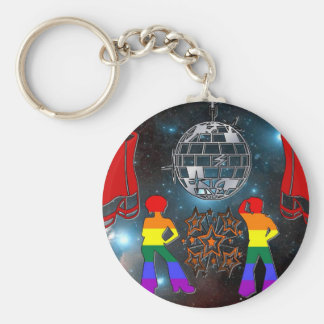 Disco Fever Key Ring