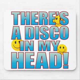 Disco Head Life B Mouse Pad