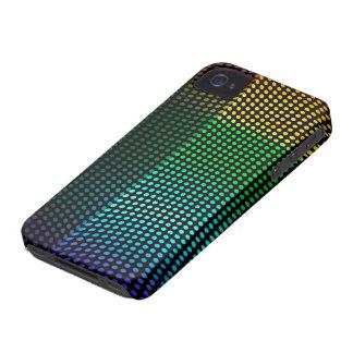 Disco Light Night Club Looks Colours Rainbow iPhone 4 Covers