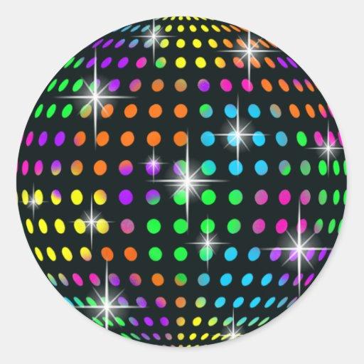 Disco Mirror Ball Stickers