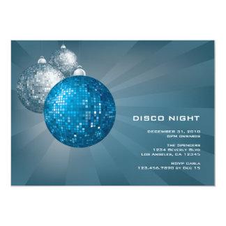Disco Night New Year Party Invitation