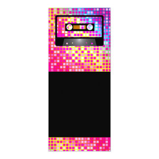 Disco Party 10 Cm X 24 Cm Invitation Card