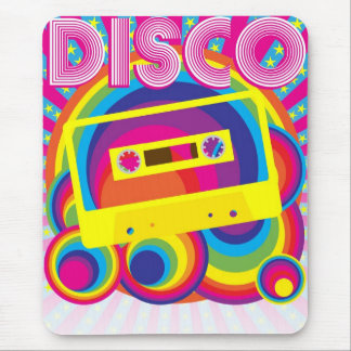 Disco Party Mouse Pad