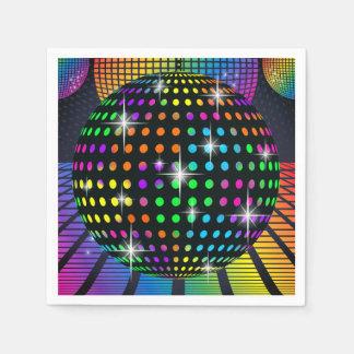 Disco Party Napkin Paper Napkin