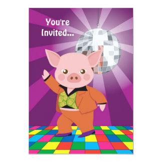 Disco Pig Card