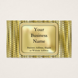 Disco Shimmer Business Card