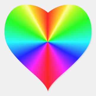 Disco Heart Sticker