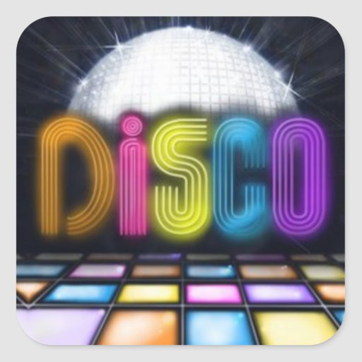 Disco Sticker