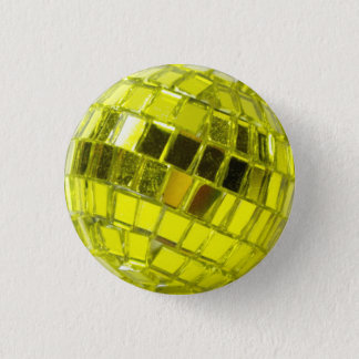 Disco swipes in - Minis Swell with Facets Green 3 Cm Round Badge