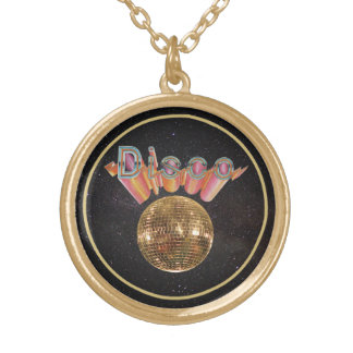 Disco the Night Away Gold Plated Necklace