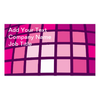 Disco Tiles Pack Of Standard Business Cards
