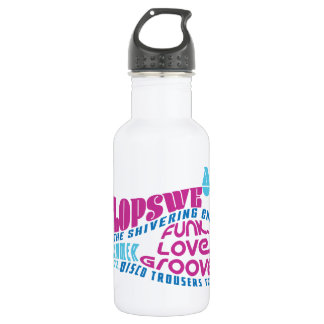 Disco Trousers Tour Water Bottle 18oz.