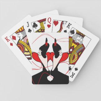 Disco Twins Poker Deck