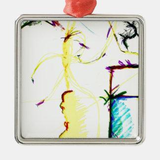Disco W \ A Crazy Metal Ornament