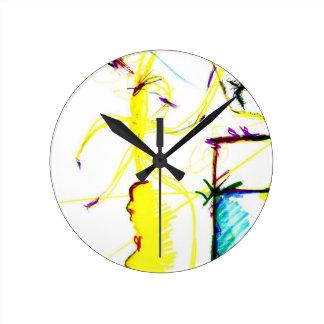 Disco W \ A Crazy Round Clock