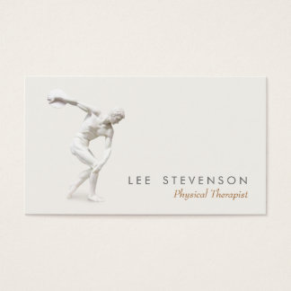 Discobolus Business Card