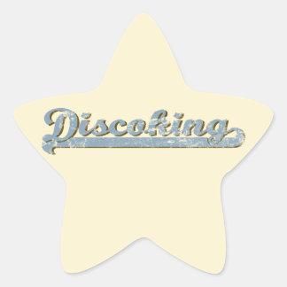 Discoking Star Sticker
