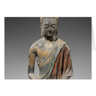 Discolored Buddha Sculpture - Tang dynasty (618) Card