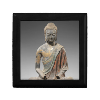 Discolored Buddha Sculpture - Tang dynasty (618) Gift Box