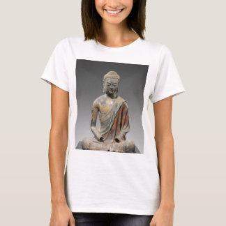 Discolored Buddha Sculpture - Tang dynasty (618) T-Shirt