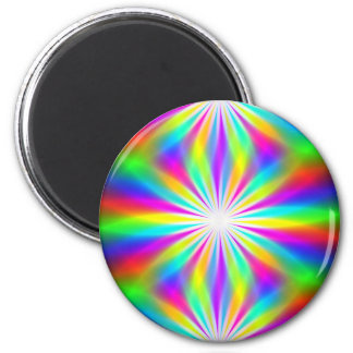 DiscoTech 4 6 Cm Round Magnet