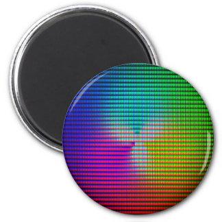 DiscoTech 5 6 Cm Round Magnet