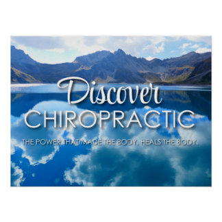 Discover Chiropractic (Power) Photography Poster