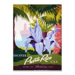 Discover Puerto Rico 5x7 Paper Invitation Card
