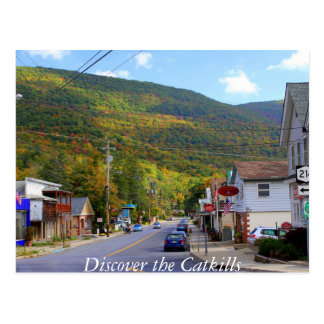 Discover the Catskills 4 Postcard