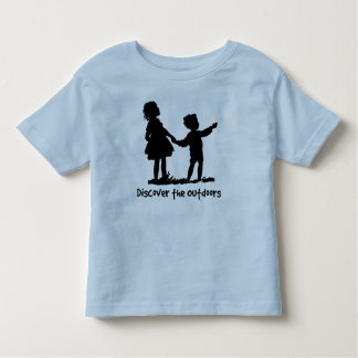Discover the Outdoors Retro Kids T-shirts
