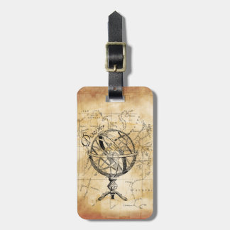 Discover the World Luggage Tag