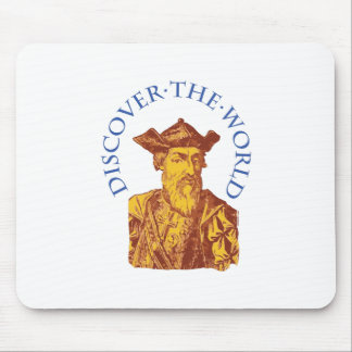 Discover The World Mouse Pad