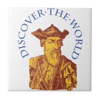 Discover The World Tile