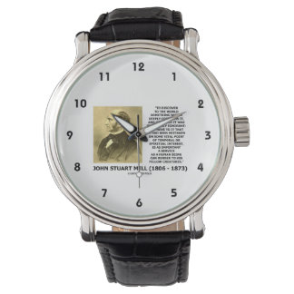 Discover To The World Service Human Beings JS Mill Wrist Watches