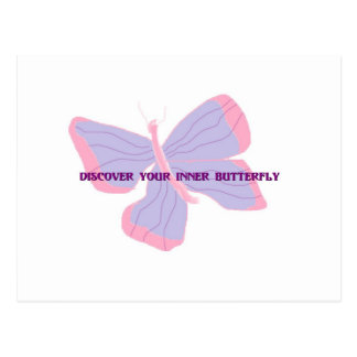 Discover Your Inner Butterfly Postcard